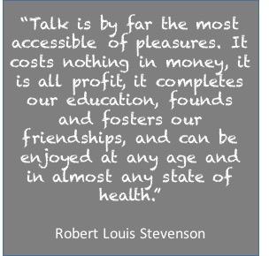 Talk, Robert Louis Stevenson