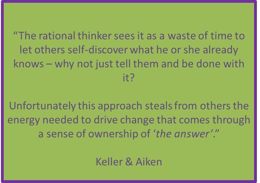 the rational thinker, keller and aiken