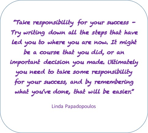 Take responsibility for your success